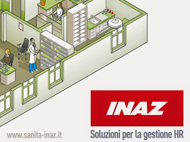 Inaz stand banner